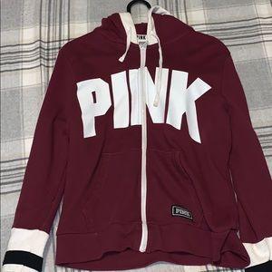 Pink vs sweater (barley worn)